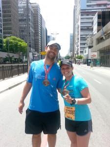 Patricia e seu marido Juliano Précoma Moreira (Foto: Arquivo Pessoal)
