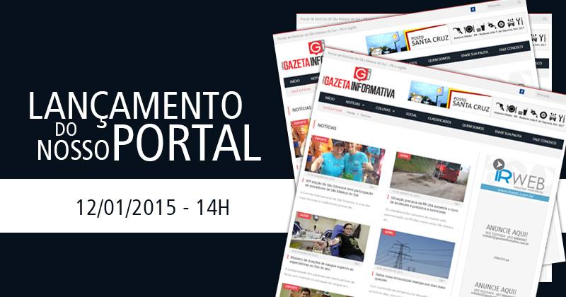 É com muito orgulho e satisfação que anunciamos o lançamento do site Gazeta  Informativa. Um veículo de comunicação nas versões impressa e digital que  nasce ... 5fa1b917c4da5