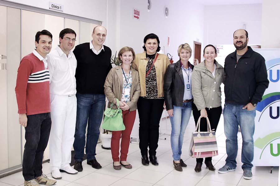 Reitores, Coordenadores, professores e funcionários da prefeitura de São Mateus Reitores, Coordenadores, professores e funcionários da prefeitura de São Mateus