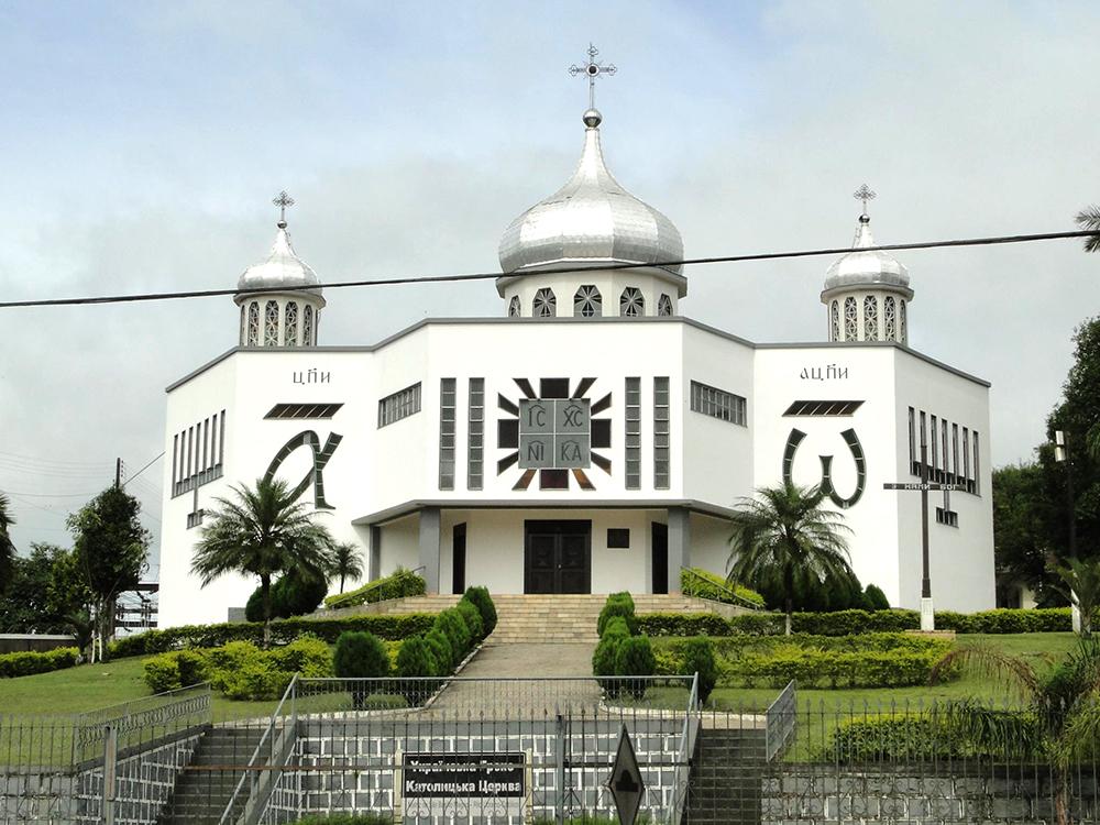 Igreja Ucraniana São Basílio Magno, de União da Vitória. (Foto: Marcelo S. de Lara)