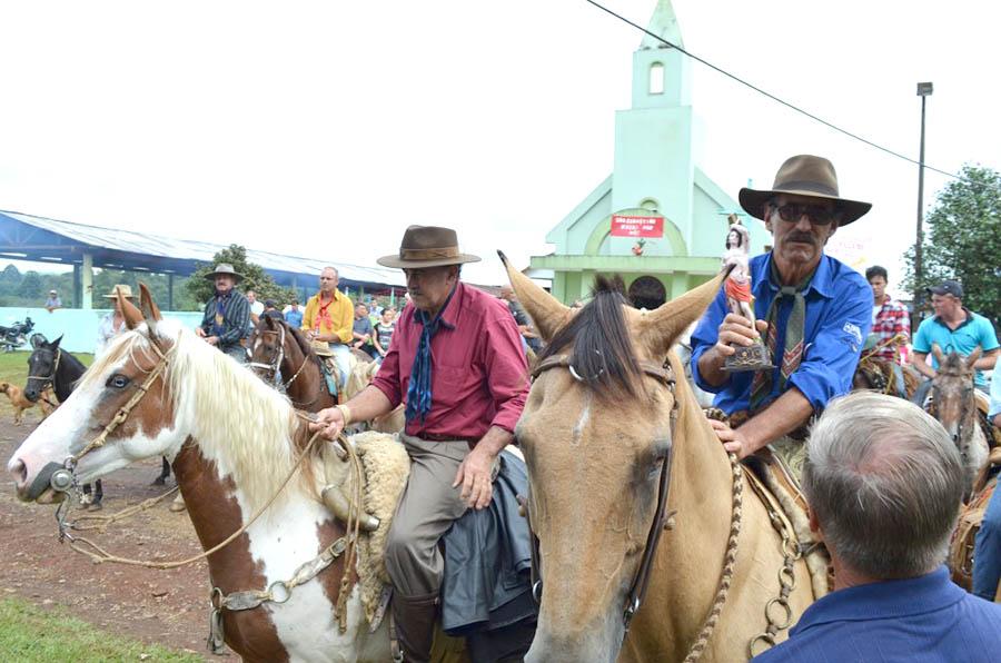 Festa no Emboque encerra 2º Encontro Regional de Tropeiros. Foto: Assessoria PMSMS