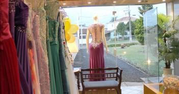 Loja de locação de vestidos de festa é inaugurada em São Mateus do Sul