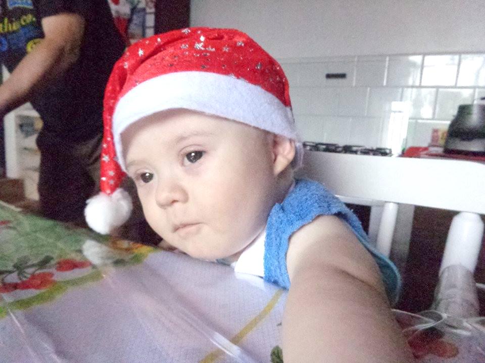 Segundo os pais, Eduardo Gabardo é uma criança maravilhosa, esperta e sapeca! (Foto: Acervo Pessoal)