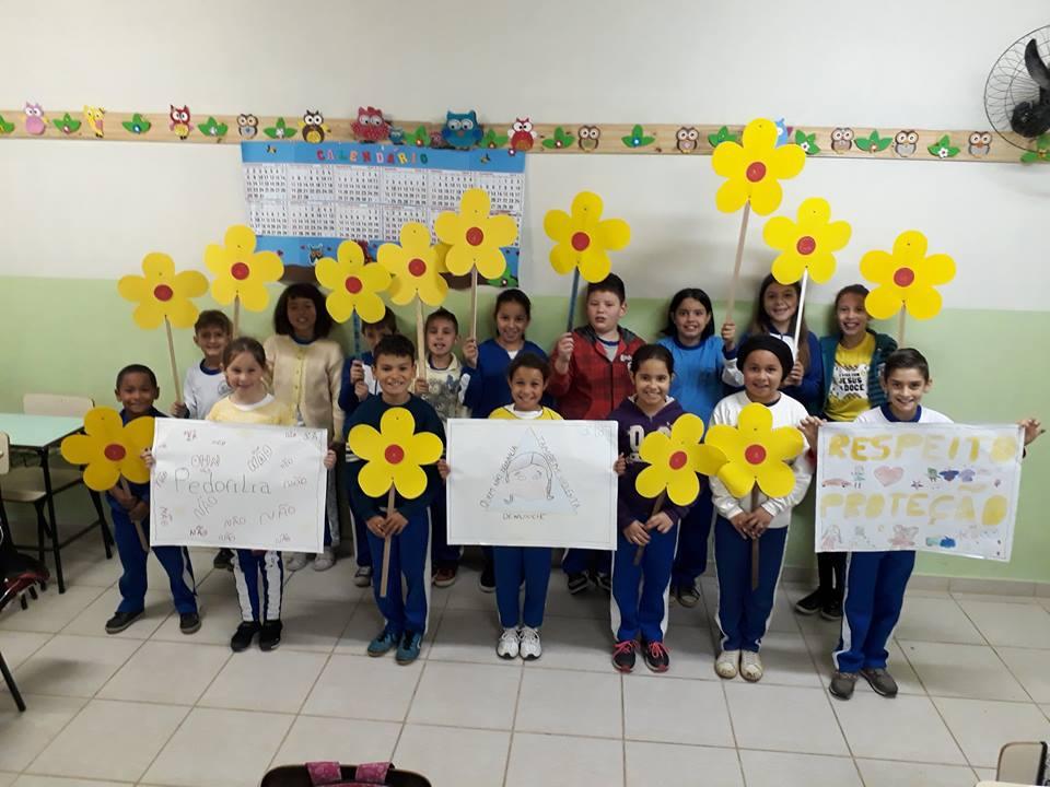 Escola Municipal Odemira Cunha na Vila Amaral - Atividades desenvolvidas pelos alunos visando a conscientização através de práticas pedagógicas e lúdicas