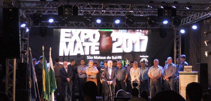 14ª Expomate é aberta oficialmente em São Mateus do Sul