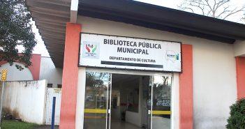 A outra face da Biblioteca Pública Municipal Arlete Neves Schramm