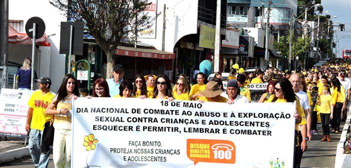 Campanha de Combate ao Abuso e a Exploração Sexual de Crianças e Adolescentes é realizada em São Mateus do Sul