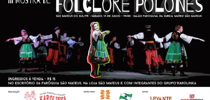 III Mostra de Folclore Polonês promete encantar o público com uma explosão de cores e ritmos