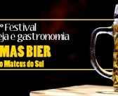 1º Festival de Cerveja e Gastronomia acontecerá em São Mateus do Sul